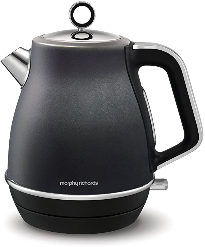 Morphy Richards Evoke Black 1.5Ltr Jug Kettle | 104405