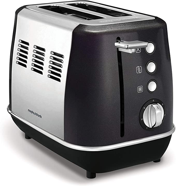 Morphy Richards Evoke 2 Slice Toaster Black | 224405