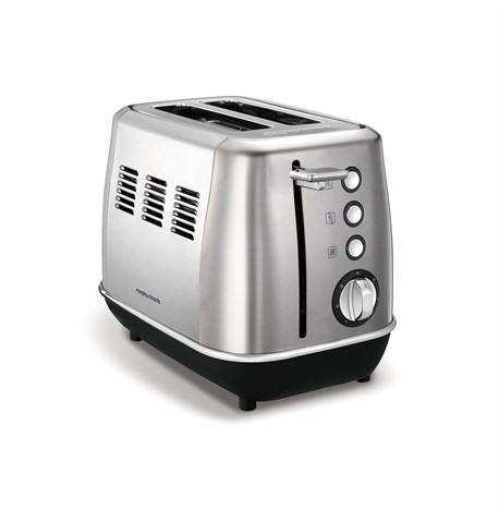 Morphy Richards 2 Slice Brushed Steel Toaster | 224406