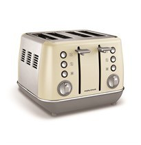 Morphy Richards Cream 4 Slice Toaster | 240107