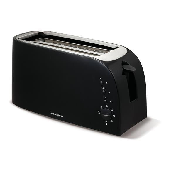 Morphy Richards 4 Slice Toaster Black | 980508