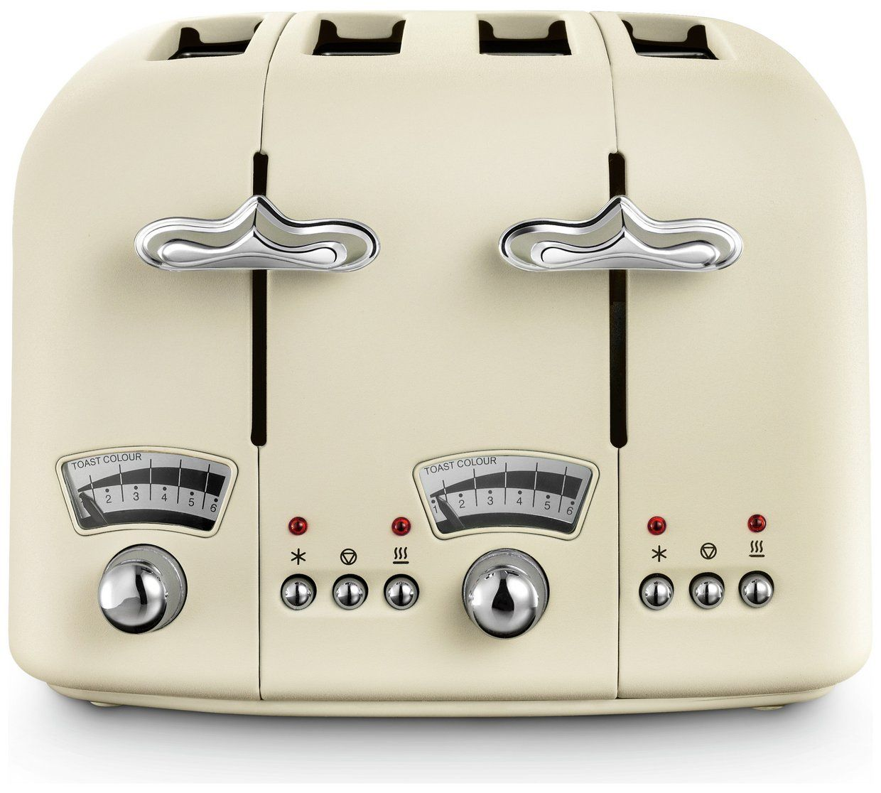 Delonghi Cream 4 Slice Toaster | CTO4.BG