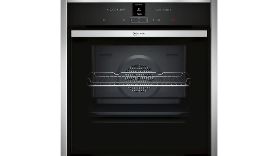 Neff Pyrolitic Hide and Slide Single Oven | B57CR22NOB