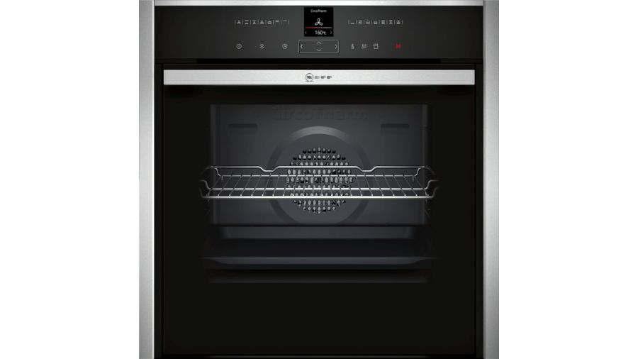 Neff Variosteam Hide and Slide Single Oven | B47VR32N0B