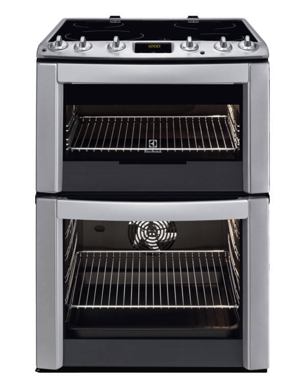 Electrolux 60cm Electric Cooker Stainless Steel | EKC6461AOX