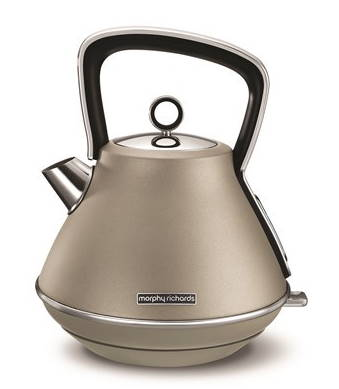 Morphy Richards Evoke Pyramid Kettle - Platinum | 100103