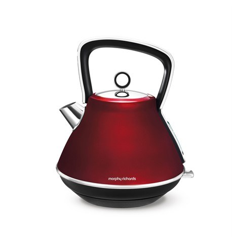 Morphy Richards Evoke Pyramid Kettle Red | 100108