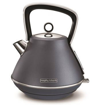Morphy Richards Evoke Pyramid Kettle - Steel Blue | 100102