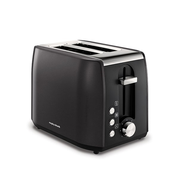 Morphy Richards Equip 2 Slice Toaster Metallic Black | 222058