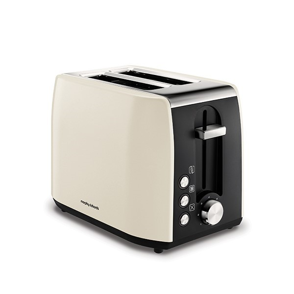 Morphy Richards Equip 2 Slice Toaster Metallic Cream | 222059