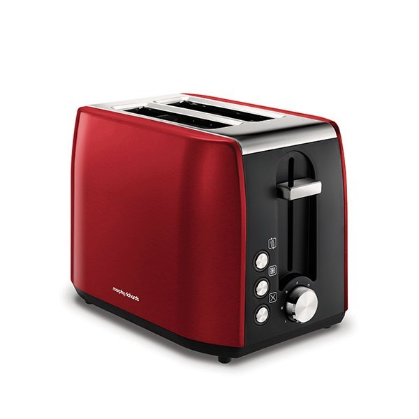 Morphy Richards Equip 2 Slice Toaster Metallic Red | 222060
