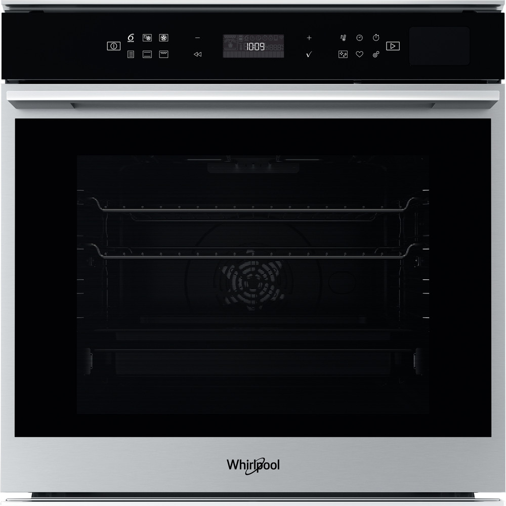 Whirlpool SteamSense Single Oven Inox | W70S44S1P