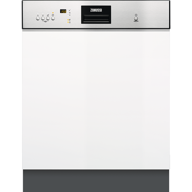 Zanussi Semi Integrated 13 Place Setting Stainless Steel Dishwasher | ZDI26022XA