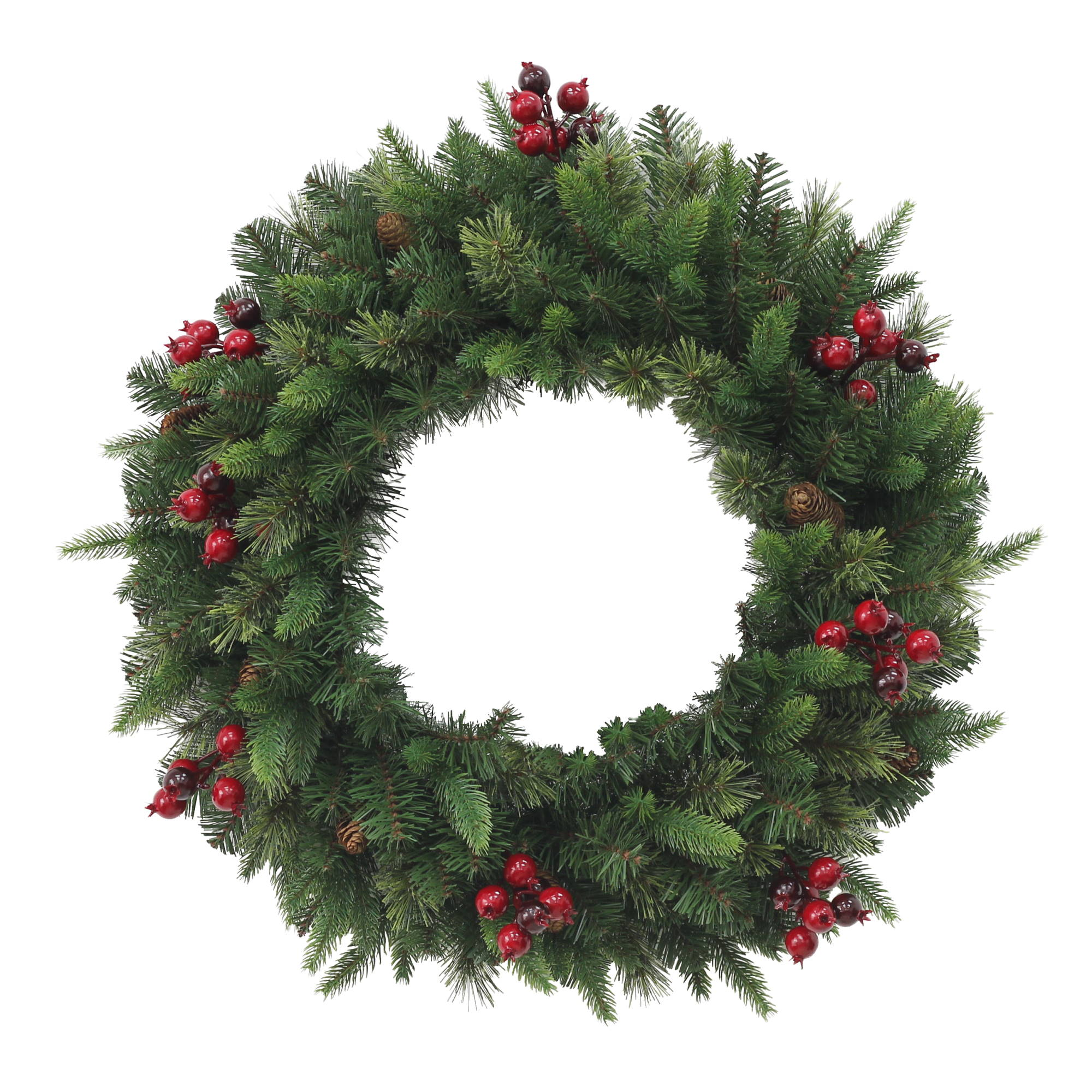 Pine Christmas Wreath - 60cm
