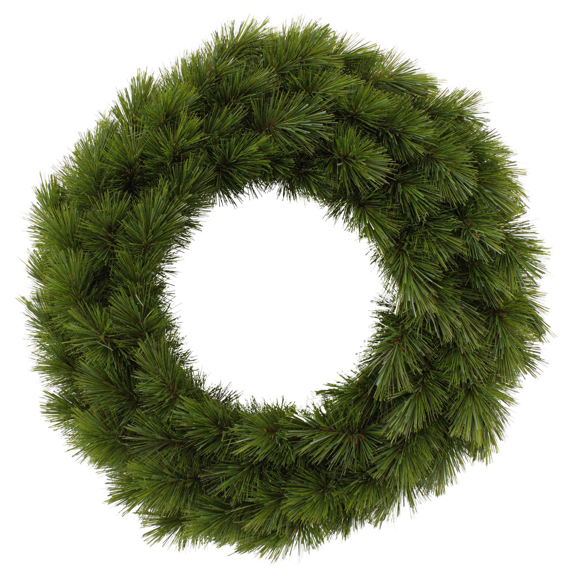 Camden Green Christmas Wreath - 60cm