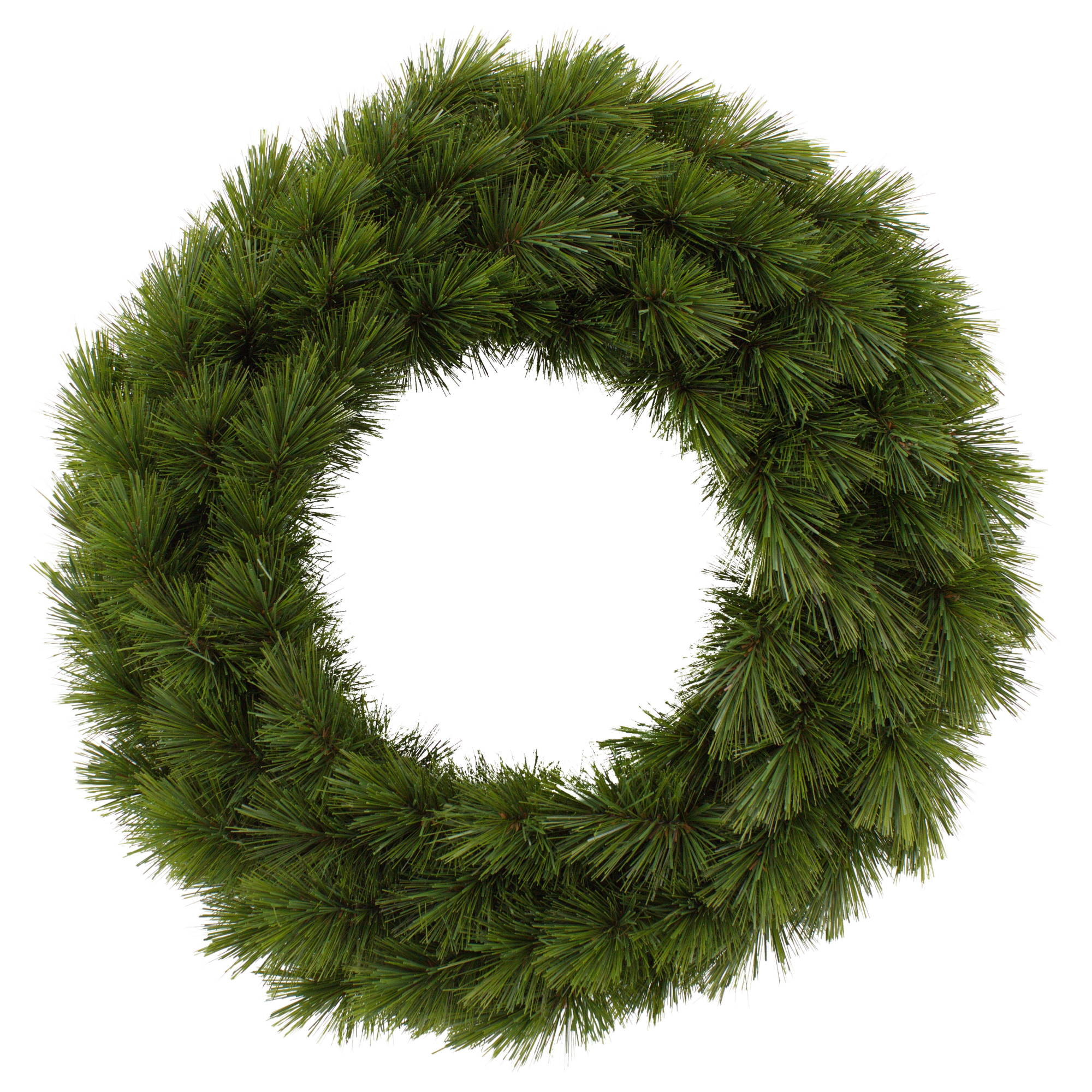 Camden Green Christmas Wreath - 90cm
