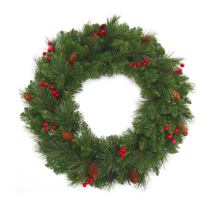Everyday Christmas Wreath - 60cm