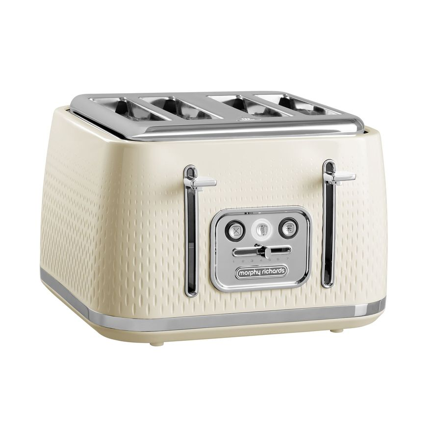 Morphy Richards Verve 4 Slice Toaster - Cream | 243011