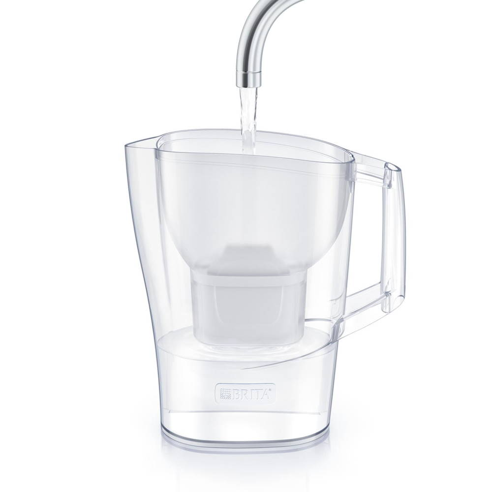 Brita Aluna Water Filter Jug With 2 Filters Filling